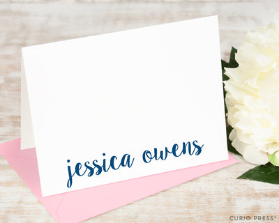 Cute Name: Folded Card Set - Curio Press