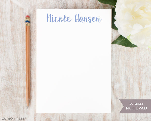 Cute Name: Notepad - Curio Press