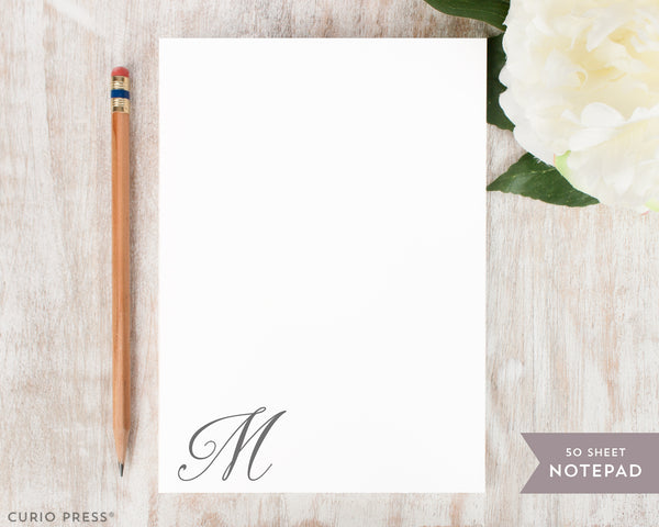 Darleston Monogram: Notepad - Curio Press