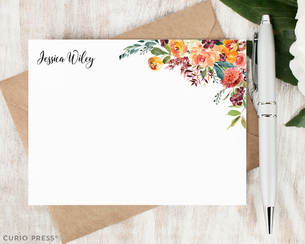 Divine Florals: Flat Card Set - Curio Press