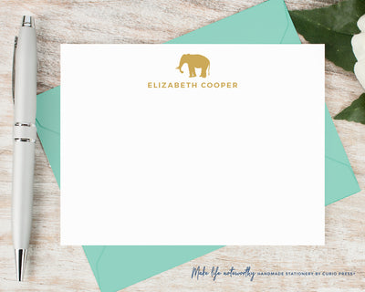 Elephant: Flat Card Set
