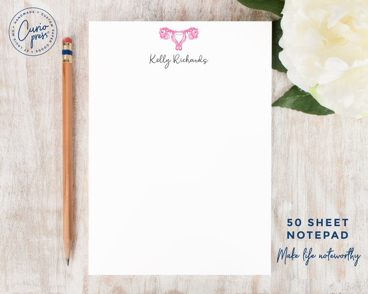 Endometriosis Awareness: Notepad