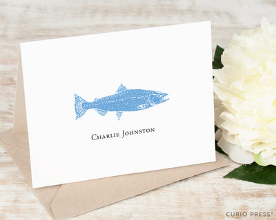 Fish: Folded Card Set - Curio Press