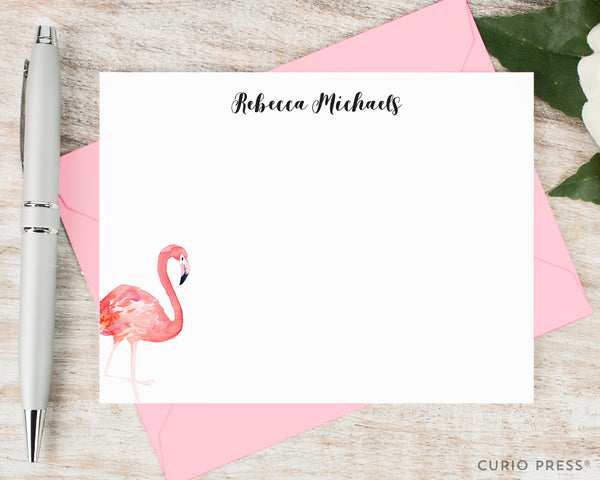Flamingo: Flat Card Set - Curio Press