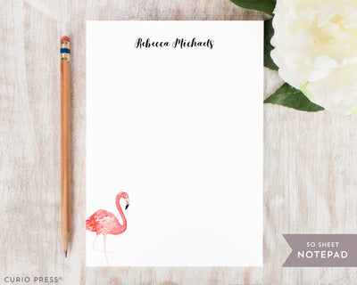 Flamingo: Notepad - Curio Press
