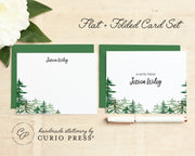 Forest: Folded + Flat Card Set - Curio Press
