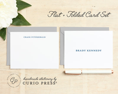 Simplicity: Folded + Flat Card Set