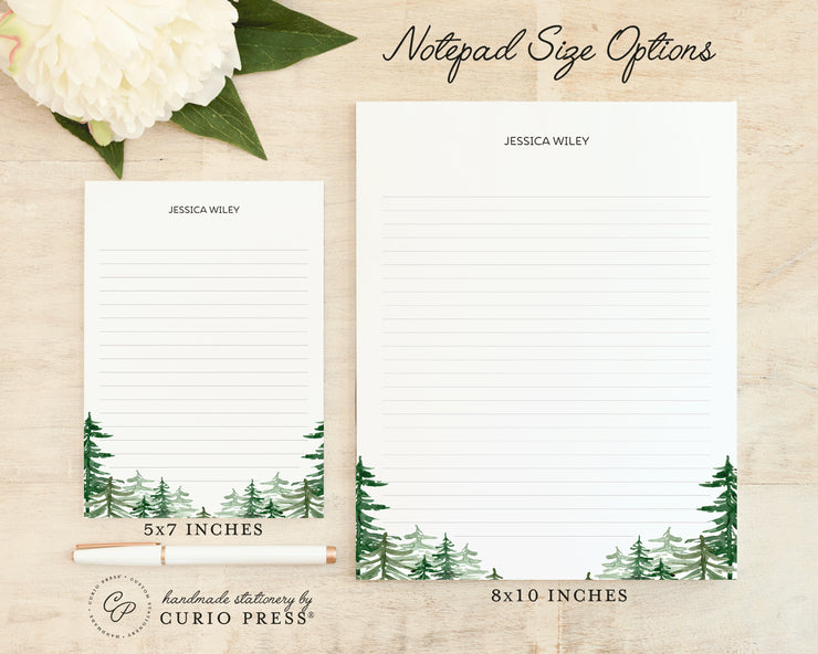 Forest: Notepad - Curio Press