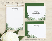 Forest: Folded + Flat + Notepad Set - Curio Press
