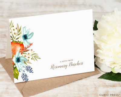 Fruit Blooms: Folded Card Set - Curio Press