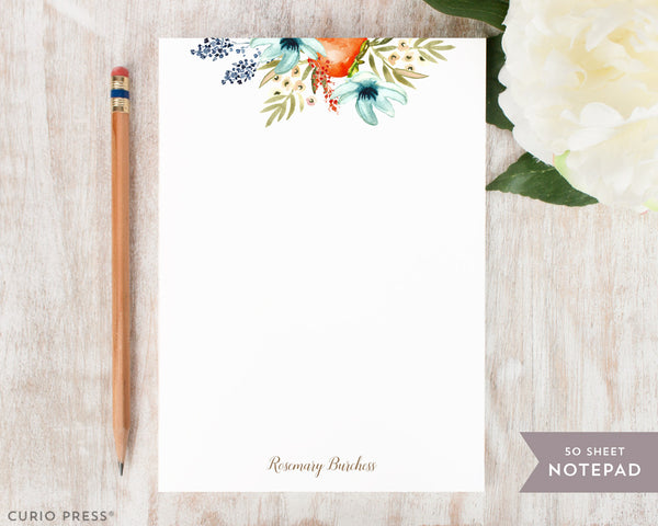 Fruit Blooms: Notepad - Curio Press