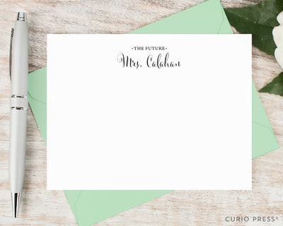Future Mrs.: Flat Card Set - Curio Press