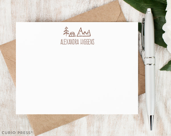 Great Outdoors: Flat Card Set - Curio Press