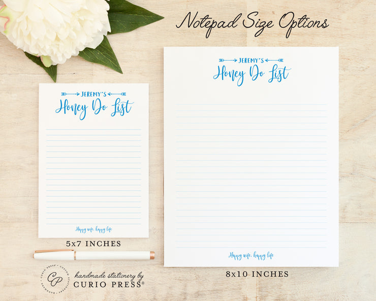 Honey Do: Notepad - Curio Press