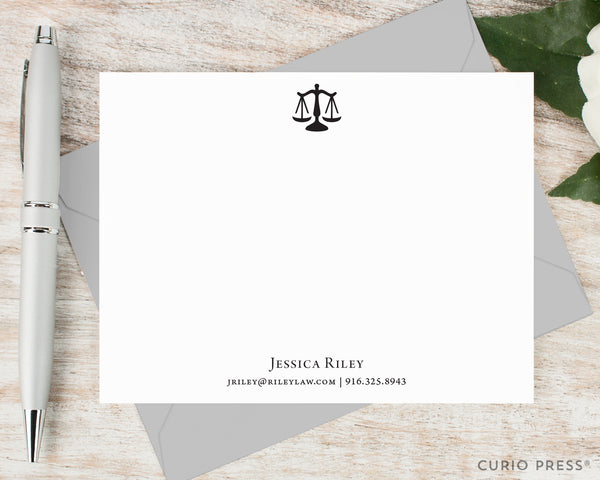 Justice: Flat Card Set - Curio Press
