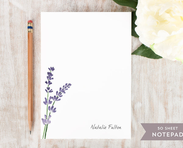 Lavender: Notepad - Curio Press