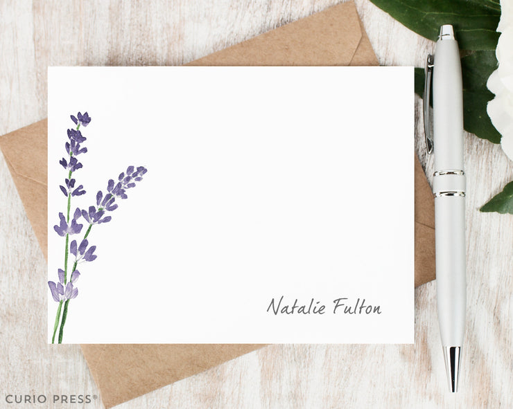 Lavender: Flat Card Set - Curio Press