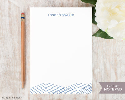 Lines: Notepad - Curio Press