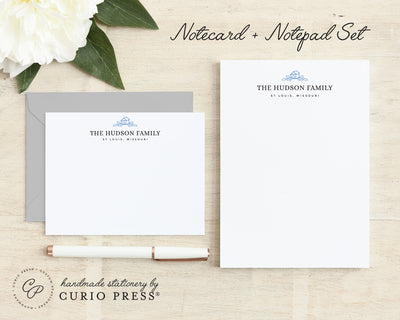 Loving Home: Flat Card + Notepad Set - Curio Press