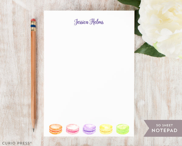 Macarons: Notepad - Curio Press