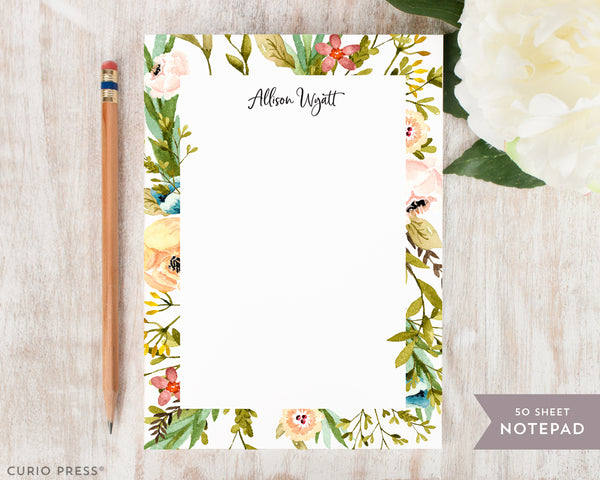 Meadow: Notepad - Curio Press