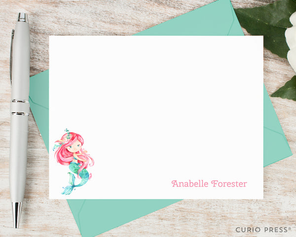 Mermaid: Flat Card Set - Curio Press
