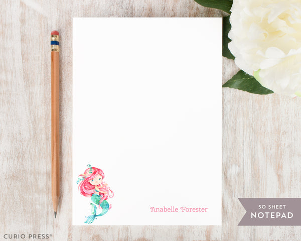 Mermaid: Notepad - Curio Press
