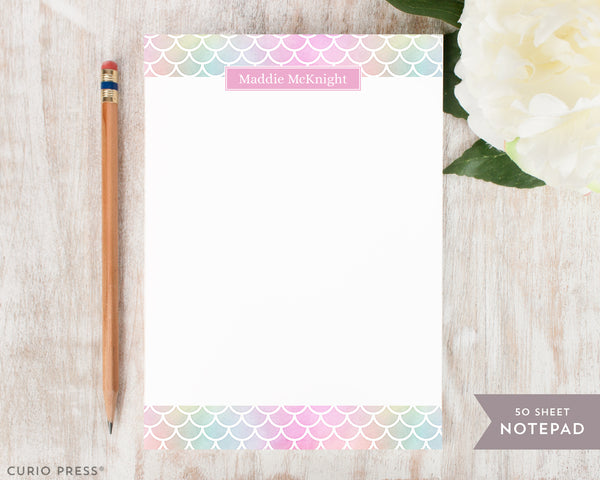 Mermaid Scales: Notepad - Curio Press