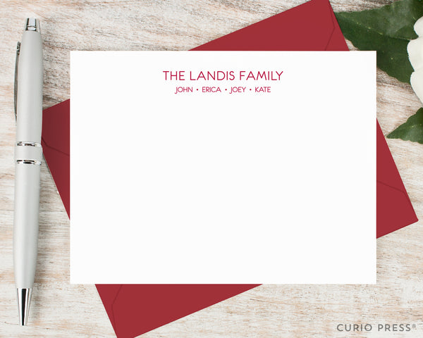 Modern Family: Flat Card Set - Curio Press