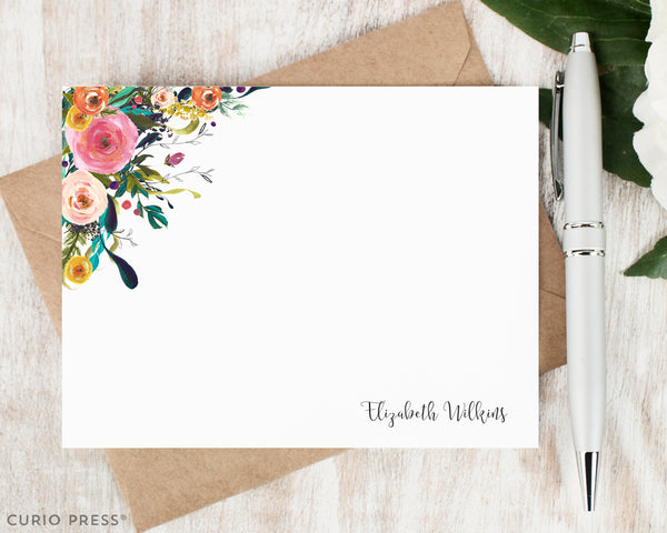 Multi Flower II: Flat Card Set