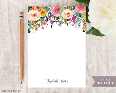 Multi Flower: Notepad - Curio Press