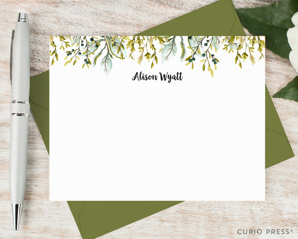 Olive Leaves: Flat Card Set