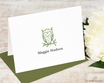 Owl: Folded Card Set
