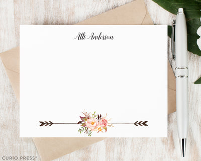 Painted Florals II: Flat Card Set