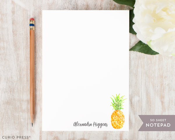 Painted Pineapple: Notepad