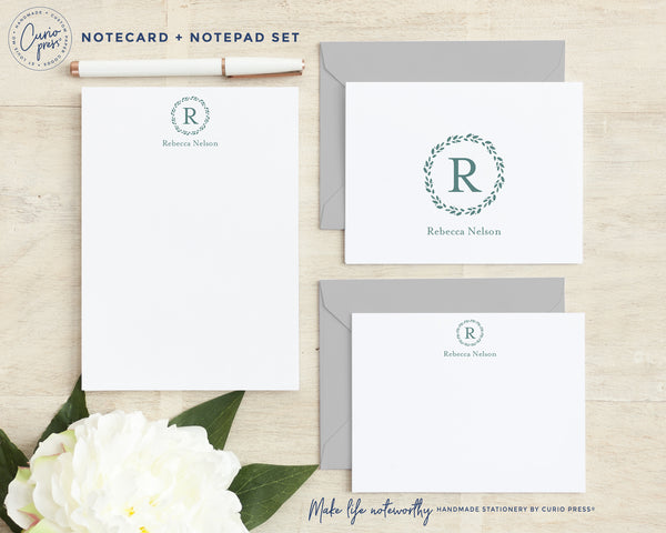 Stationery Monogram Set