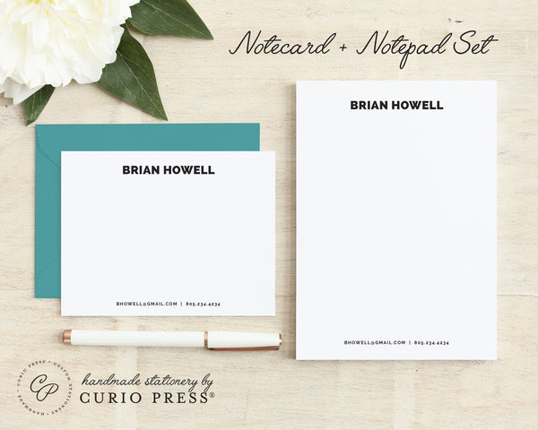 2-Piece Stationery Set with Envelopes