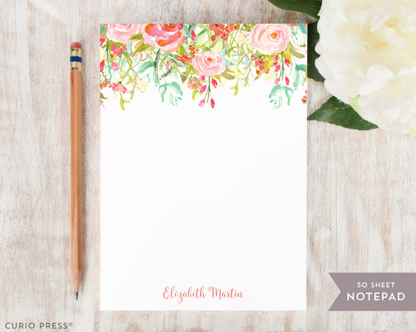 Rosecliff Florals: Notepad