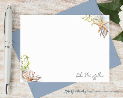 Sea Shells: Flat Card Set