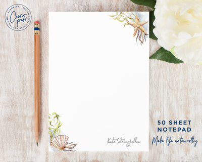 Sea Shells: Notepad