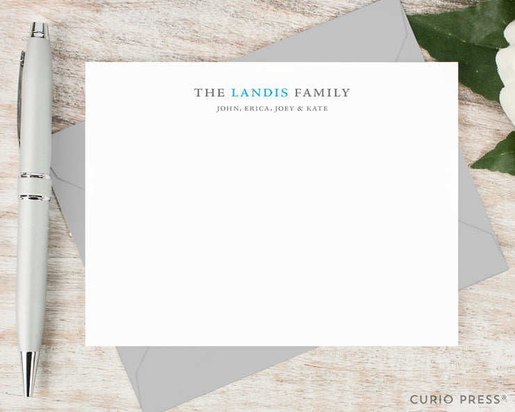Simple Family: Flat Card Set