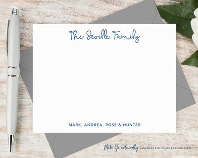Swash Family: Flat Card Set