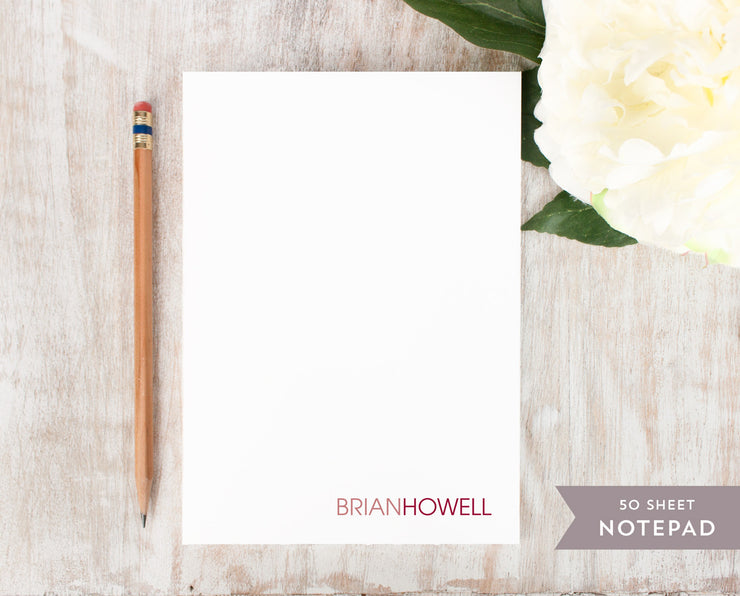 Two Tone: Notepad