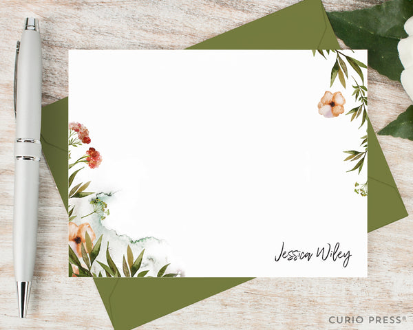 Wildflowers: Flat Card Set