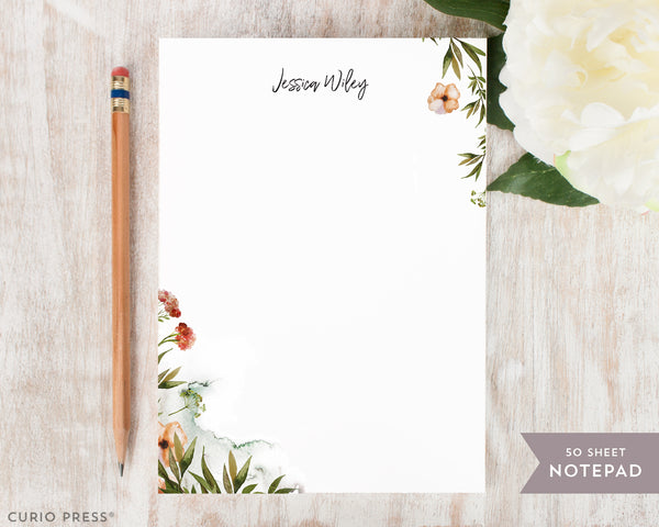 Wildflowers: Notepad