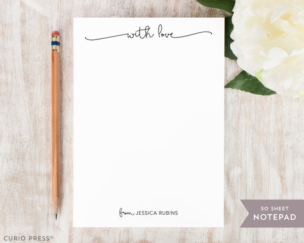 With Love: Notepad