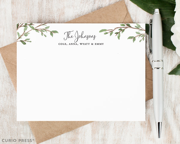 Woodland Nature Stationery