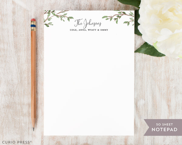 Personalized Notepad