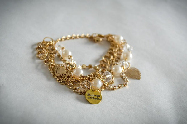 Saving Grace Collection: Bracelet- Multi-layer Charm (Various Styles)