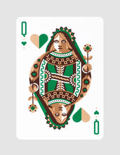DKNG Green Wheel by Art of Play Playing Cards Queen of Hearts